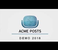 Acme Posts 2018 Compilation Reel